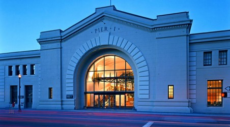 Historic Pier One Transforms from Warehouse to Waterfront Showpiece.