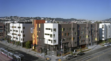 Affordable Senior Housing Project In San Francisco's Bayview District.