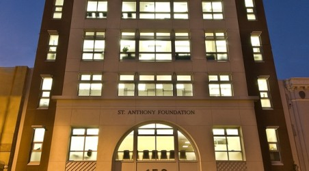 New LEED® Gold Certified Building for the St. Anthony Foundation.