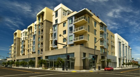 New Mixed-Use Luxury Apartment Complex in South Mission Bay.