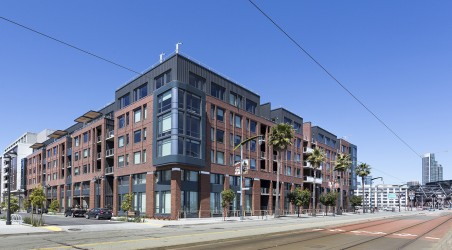 New Market-Rate Housing Development in San Francisco's Mission Bay Neighborhood.