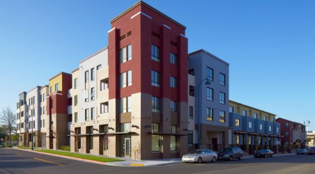 New Low-Income Housing in East Oakland.