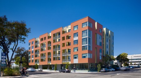 LEED Platinum Affordable Senior Housing in Oakland