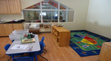 Renovation for New Child Care Center in Burlingame.