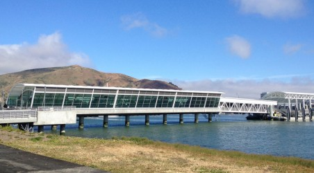 New Ferry Terminal at Oyster Point in South San Francisco.