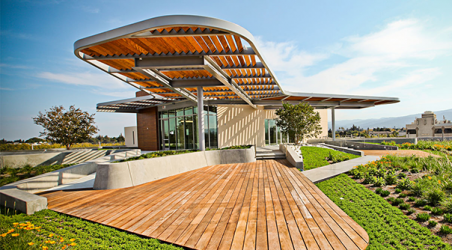 LEED® Platinum office building in downtown Mountain View