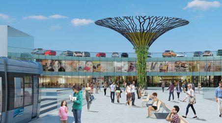 Design-build construction of 3,500 space airport parking garage