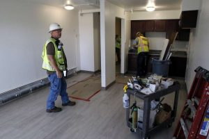 Public Housing Renovations in the Chronicle